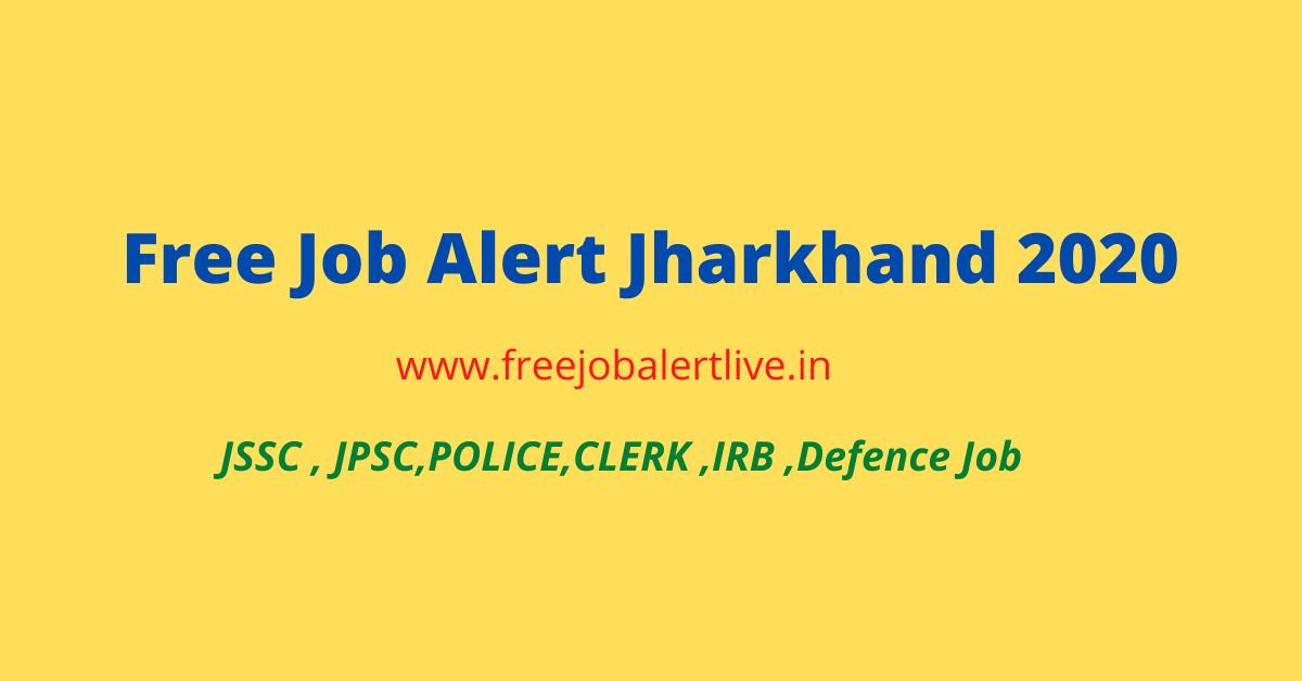 free job alert jharkhand