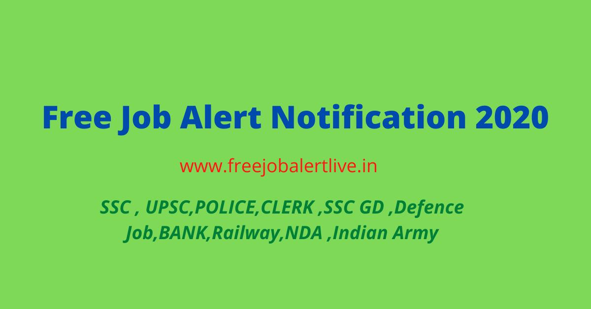 free job alert notification