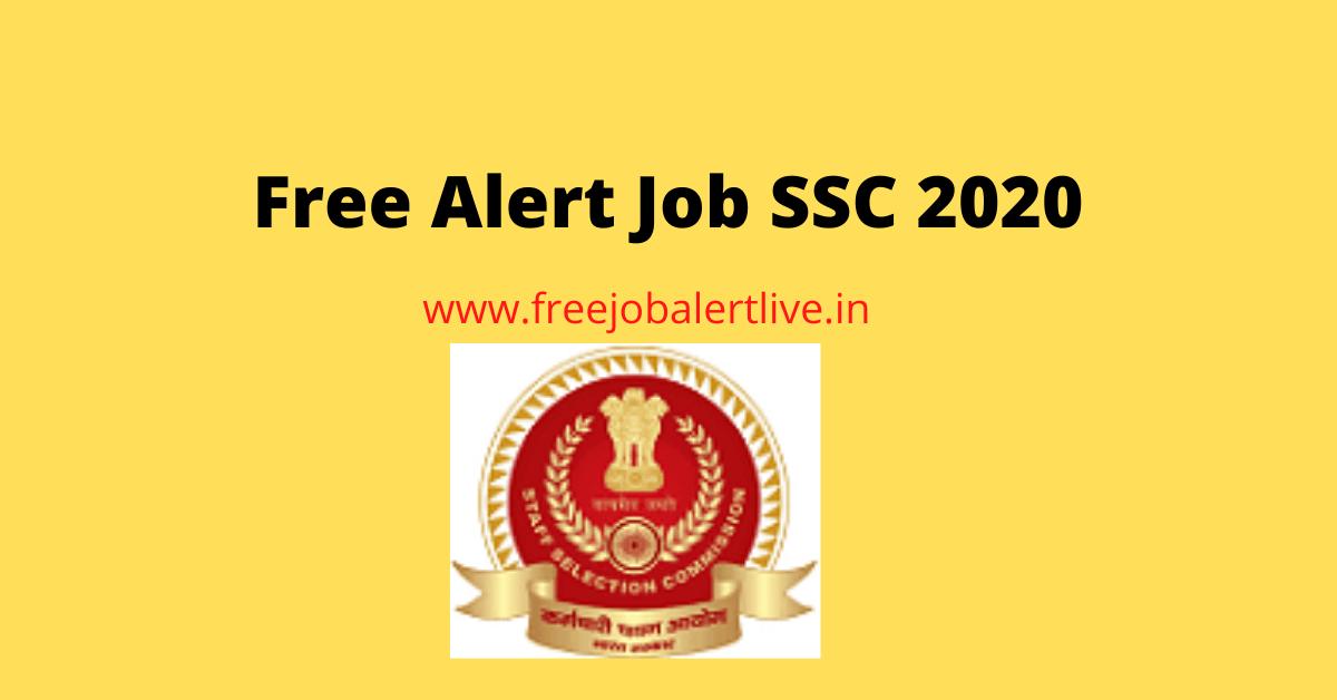Free Alert job ssc